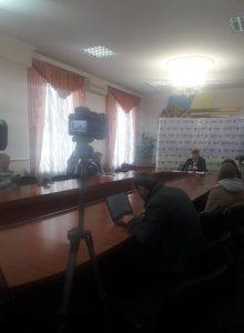 Очільник області  Віталій Бунечко зібрав представників ЗМІ