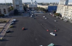 9 листопада буде перекрито рух транспорту на майдані Соборному