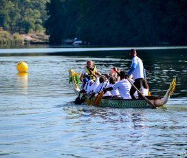 На вихідних Житомир вперше приймав чемпіонат України з веслування на човнах «Дракон» (фото)